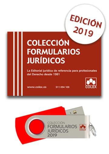 Usb Colección Formularios Jurídicos 2019colex Librería