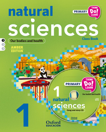 Think Do Learn Natural and Social Sciences 1st Primary. Class book + CD pack Amber