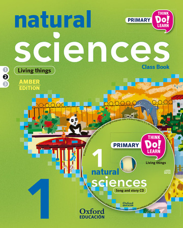 Think Do Learn Natural Science 1st Primary Student's Book + CD + Stories Module 2 Ambar