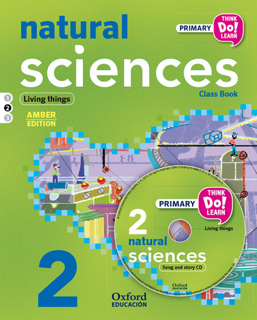 Think Do Learn Natural Sciences 2nd Primary. Class book + CD + Stories Module 2 Amber