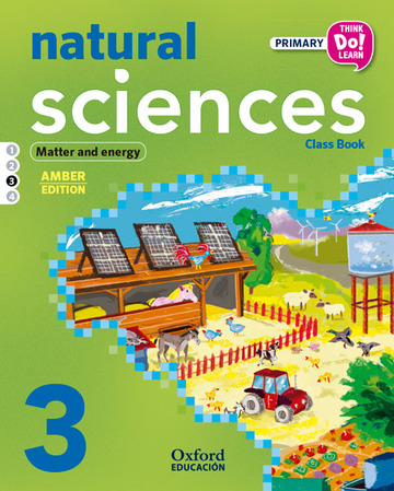 Think Do Learn Natural Sciences 3rd Primary. Class book Module 3 Amber