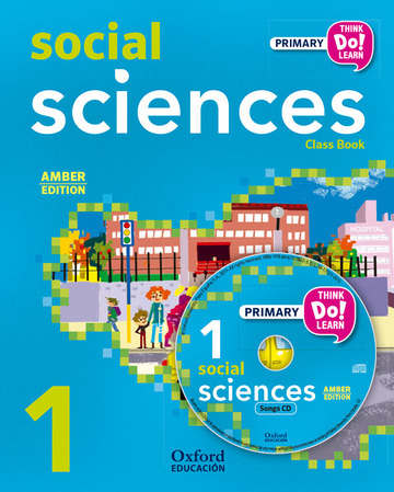 Think Do Learn Social Sciences 1st Primary. Class book + CD pack Amber