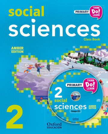 Think Do Learn Social Sciences 2nd Primary. Class book + CD pack Amber