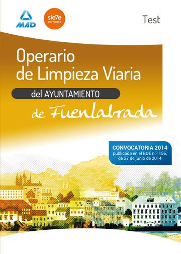 Operario De Limpieza Viaria Del Ayuntamiento De Fuenlabrada
