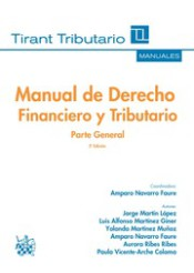 Manual de Derecho Financiero y Tributario Parte General 3ª Edición 2016