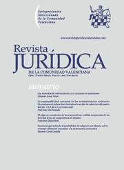 Revista Jurídica de la Comunidad Valenciana