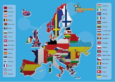 Puzle Mapa de Europa Science4you Science4you  Librera Tirant